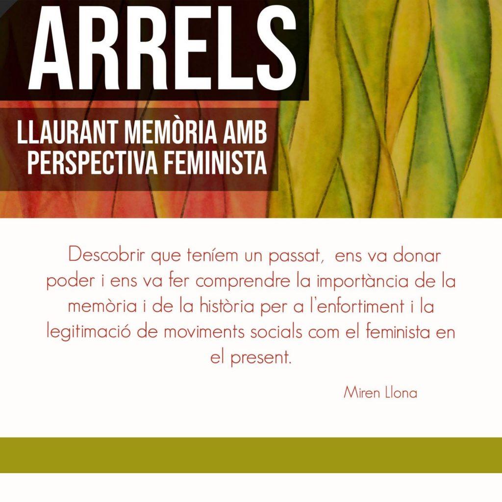 Arrels - Llaurant memoria amb perspectiva feminista