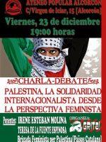 Cartel Charla Alcorcón 23 de Diciembre 2016