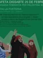 Cartel La Fusteria 25 de Febrero 2017