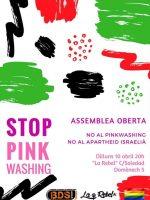 Cartel Pinkwashing 10 Abril 2017