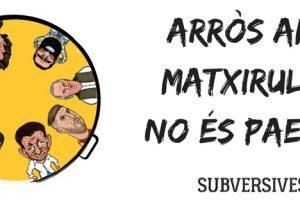 ARRÒS AMB MATXIRULOS NO ÉS PAELLA